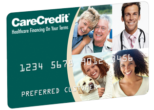 Financing is also available through Care Credit