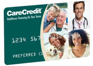 Financing Available through Care Credit | Making care possible... today.